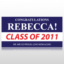 Congratulations Students Name Graduation Banner