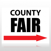 County Fair Sign Panel