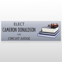 Book Gavel 275 Custom Sign