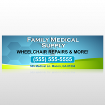 Family Medical 138 Custom Decal