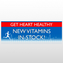 Heart Healthy 140 Custom Decal