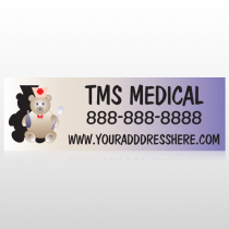Nurse Bear 504 Custom Decal