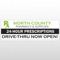 R X North County 105 Custom Decal