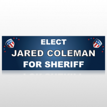 Sheriff Shield 280 Custom Sign