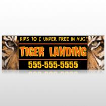 Tiger Landing 303 Custom Decal