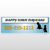 True Happy Care 182 Custom Sign
