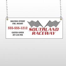 Racetrack 31 Window Sign