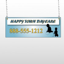 True Happy Care 182 Window Sign