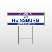 Political 4 Wire Frame Sign