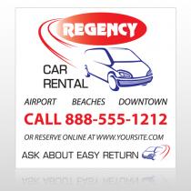 Rental Car 39 Custom Banner