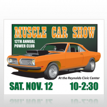 Muscle Car 124 Wall Art