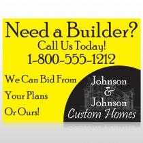 Yellow House Plan 216 Custom Decal