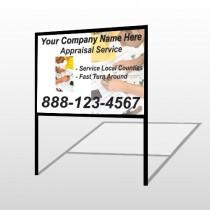 Hand Planning 260 H Frame Sign