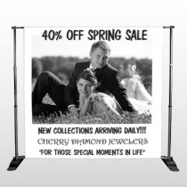 Married Couple 398 Pocket Banner Stand