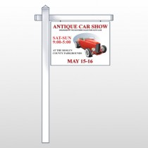 Car Show 123 Site Sign
