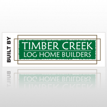 Log Builder 40 Custom Decal