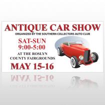 Car Show 123 Signs Custom