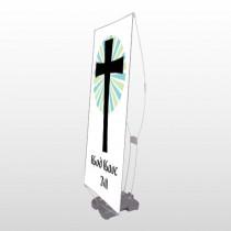 God Gave 118 Exterior Flex Banner Stand