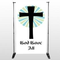 God Gave 118 Pocket Banner Stand