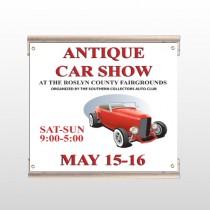 Car Show 123 Track Sign