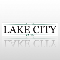 Lake City 208 Street Sign