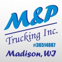 M & P 312 Truck LetteringTemplate