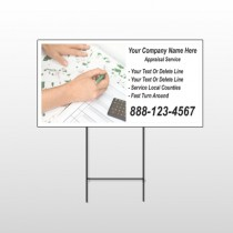 Hand Planning 260 Wire Frame Sign