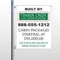 Builder 40 Pole Banner