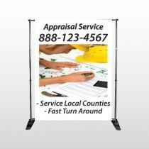 Hand Planning 260 Pocket Banner Stand