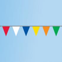 Pennant 6 Multi-Color, R,W,B,Y,O,G 120' String