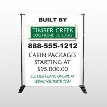Builder 40 Pocket Banner Stand