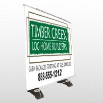 Builder 40 Exterior Pocket Banner Stand