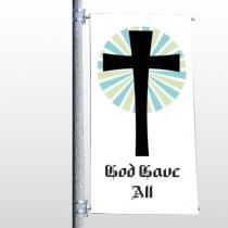 God Gave 118 Pole Banner