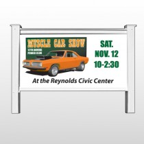 "Muscle Car 124 48""H x 96""W Site Sign"