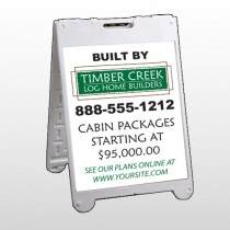 Log Builder 40 A Frame Sign