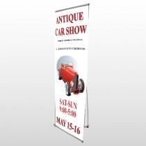 Car Show 123 Flex Banner Stand