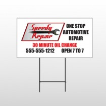 Auto Repair 38 Wire Frame Sign