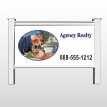 "Housekeys 249 48""H x 96""W Site Sign"