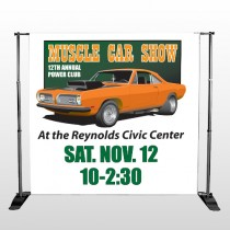 Muscle Car 124 Pocket Banner Stand