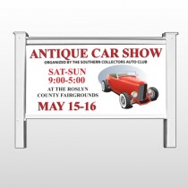 "Car Show 123-48""H x 96""W Site Sign"
