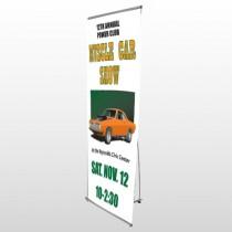 Muscle Car 124 Flex Banner Stand