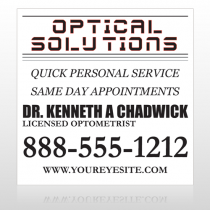 Eye Doctor 131 Custom Sign