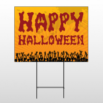 Halloween 1 Wire Frame Sign