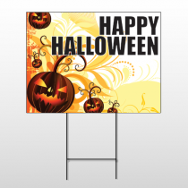 Halloween 10 Wire Frame Sign