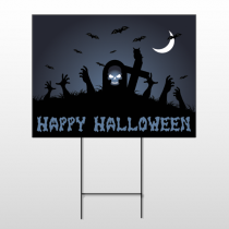 Halloween 16 Wire Frame Sign