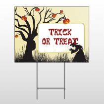 Halloween 17 Wire Frame Sign