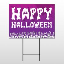 Halloween 2 Wire Frame Sign