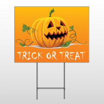 Halloween 3 Wire Frame Sign