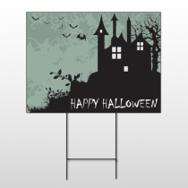 Halloween 4 Wire Frame Sign