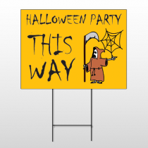 Halloween 5 Wire Frame Sign